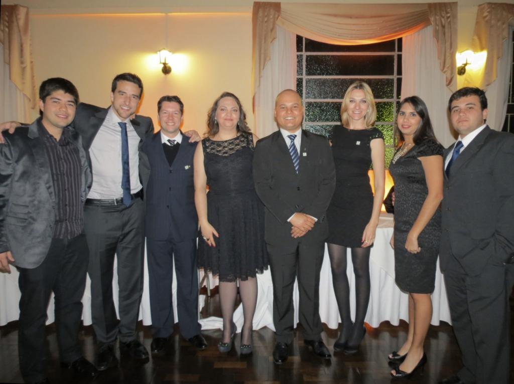 Integrantes da atual gestão da APEAM presentes no encontro.