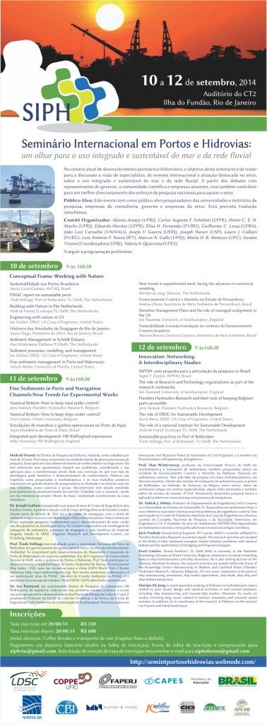 seminario portos e hidrovias